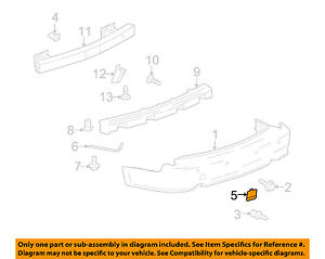 Cadillac-GM-OEM-04-09-SRX-Rear-Bumper-Access-Cover-12335718