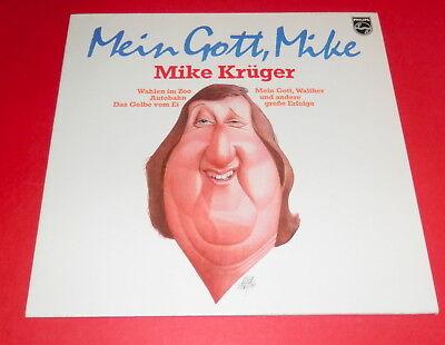Mike Krüger -- Mein Gott Mike -- LP / Deutsch Humor