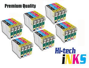 20 Compatible Ink Cartridges for Epson T0711 T0712 T0713 T0714 T0715 NON-OEM