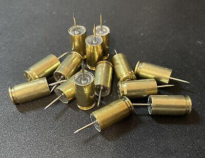 9mm Round Bullet Push Pin Thumbtack - 10-pack