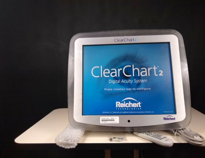 Reichert ClearChart 2 Digital Acuity System- Eye/Visual Chart Optometry/Ophthal.