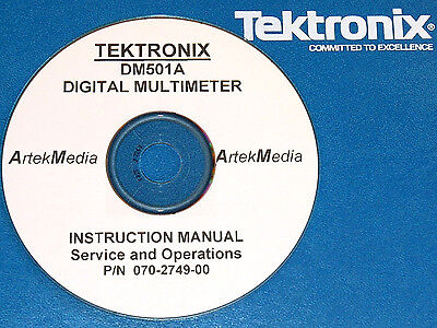 Tek Dm501a Digital Mulitmeter Ops Service Manual