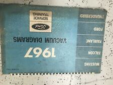 1967 Ford Mustang Thunderbird Falcon Fairlane Electrical ...