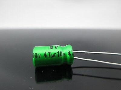 20pcs Nichicon Muse Es 47uf 10v Non-polarized Bp Japan Aluminum Audio Capacitor