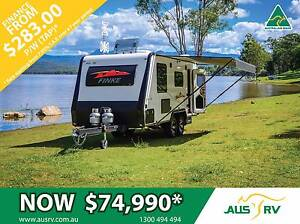 2017 AUSRV FINKE 19-02-AT (REAR DOOR) 19ft ALL TERRAIN CARAVAN Balcatta Stirling Area Preview