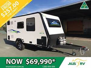 2017 AUSRV WOLLEMI 17-02-AT 17ft ALLTERRAIN TOURING CARAVAN Balcatta Stirling Area Preview
