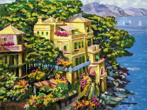"""Howard Behrens """"villa Portofino"""" 