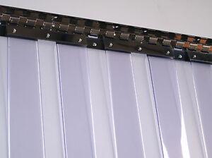 clear flexible pvc strip curtain door 3m wide x 3m high