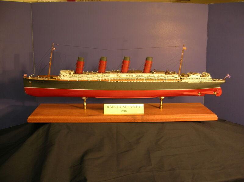 RMS Lusitania/Entex/ Gunze Sangyo/ museum quality display model / pro built