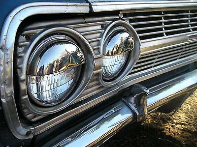 NEW SET OF VINTAGE STYLE POP OUT HEAD LIGHT COVERS !