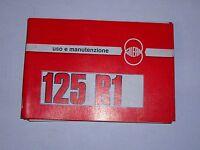 Gilera 125 R1 Libretto Uso E Manutenzione -  - ebay.it
