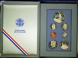 1986 Prestige U.S. Proof Set. Complete & Original.