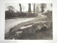 Large Vintage Printed Photograph Of Aston Cantlow C1920 Village/scythe/farmer? -  - ebay.co.uk