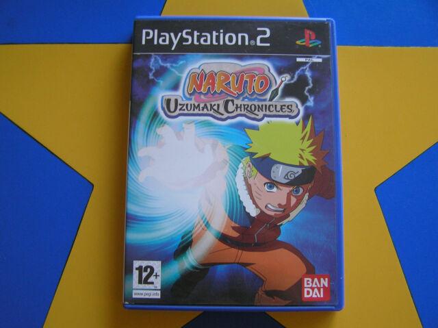 NARUTO UZUMAKI CHRONICLES - PLAYSTATION 2 - PS2