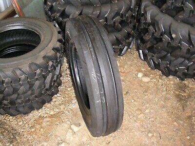 7.50-16 Three Rib Front Tractor Tire