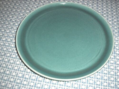 "SET OF 6 10"" RUSSEL WRIGHT SEAFOAM GREEN PLATES"