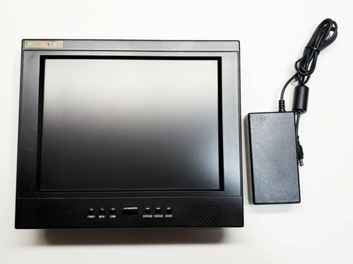"Weldex WDL-1040M 10.4"" TFT LCD Color Monitor 12 or 120 Volts"