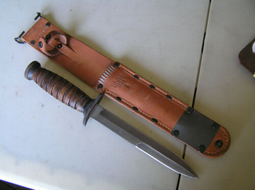 WWII US M3 FIGHTING KNIFE & M6 SCABBARD replica
