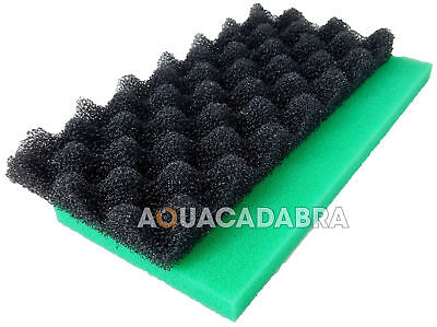3 x Diamond Cut Filtro GRIGLIE Egg Crate PESCE CORALLO Acquario Marino Vasca stagno di Koi
