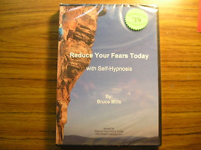 Reduce Your Fears Today - Self Hypnosis CD SRP $39