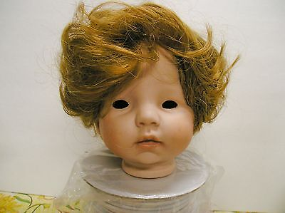 """Toddler or Girls Style Doll Wig 12"""" in Strawberry or light auburn  #402"""