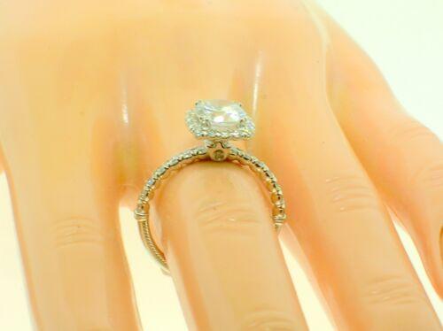 Verragio 14k Renaissance 954cu18 Mount 0.55ctw Diamonds-size 6.5us-retail$2750