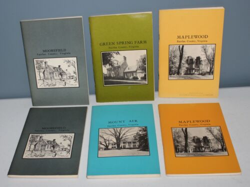 SIX BOOKS! Softcover 1970