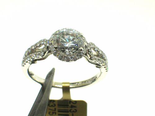 Verragio 18k Insignia Ins-7042r Halo Mount 0.35ct Diamonds-size 6+us-ret. $3750