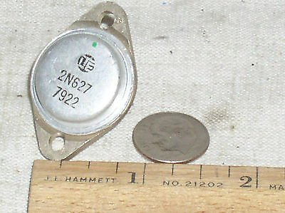 Lte 2n627 Pnp Mil Military Screened Germanium Power Transistor To-3 10a 30v Usa