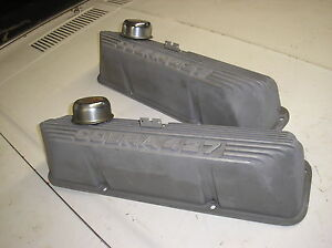 427 ford FE Cobra Aluminum valve covers, nice shape!