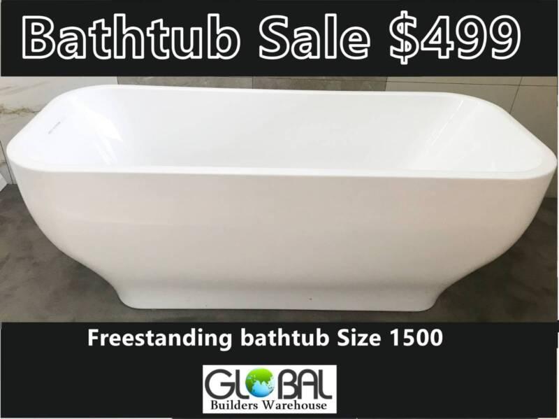 freestanding bathtub sale - $599 | building materials | gumtree