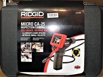 Ridgid Micro Ca-25 Inspection Camera In Hard Case 40043