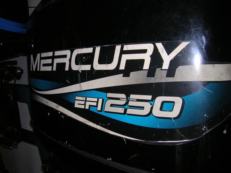 """Mercury  250 Hp Outboard Motor 25"""""""