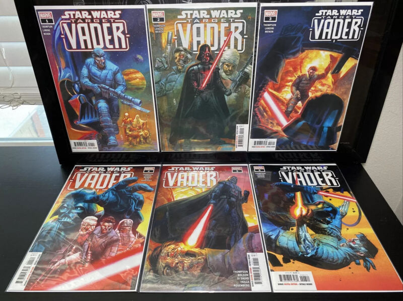Marvel STAR WARS : TARGET VADER #1 2 3 4 5 & 6 Full Set VF/NM 2019 FREE COMBINED