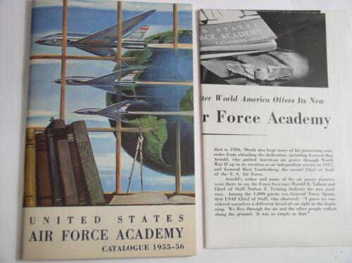 Vintage US Air Force Academy Catalogue 1955