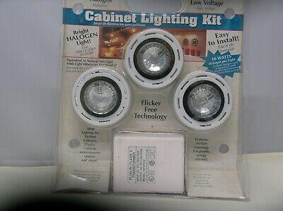 Under Cabinet Lighting Kit HALOGEN LOW VOLTAGE Halogen Cabinet Light