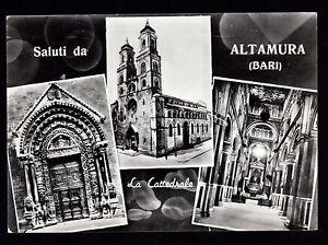 SALUTI-DA-ALTAMURA-BARI-CARTOLINA-LA-CATTEDRALE-FG-VG-1962-RENZA-CLEMENTE