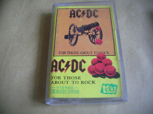 AC/DC For Those About To Rock CASSETTE POLAND - Bielsko-Biala, Polska - AC/DC For Those About To Rock CASSETTE POLAND - Bielsko-Biala, Polska