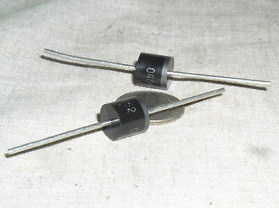 2 New Gi Gi752 6a 200v Gen Purpose Power Supply Rectifier Diode Standard Rec Usa