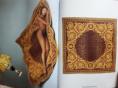RARE VERSACE HOME SIGNATURE OVERSIZED RUG CATALOG