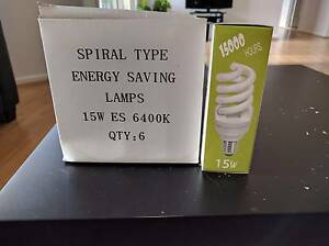 20 CFL New warm White Edison screw  bulbs for sale . Westmead Parramatta Area Preview