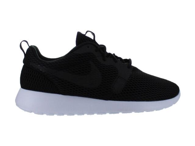 ... Mens Nike Roshe One Hyperfuse Breathe Black White 833125-001