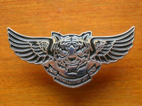 China Hong Kong Constabulary Police Special Duties Unit Metal Patch,Fly Tiger,B