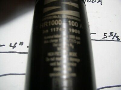 Moeller Gas Cylinder Ped 05190 Nitrogen-14 Hr1ooo-100a Special See Picturs