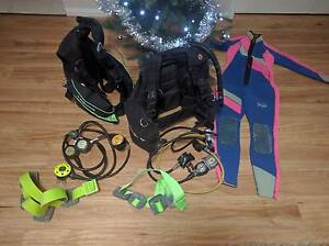Diving Gear! 2 Scuba Diving BCDs w/ Regulators 450ea or 750 both Baldivis Rockingham Area Preview
