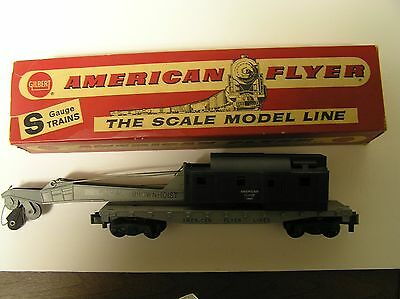 American fLYER #24561 CRANE car s scale