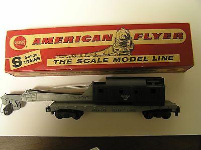 American fLYER #24561 CRANE car s scale