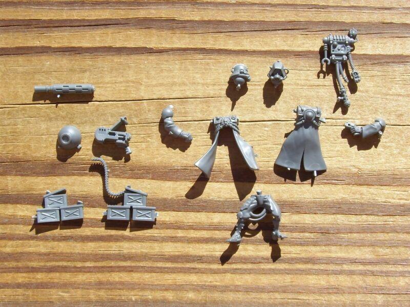 40K Adeptus Mechanicus Skorpius Disintegrator Heavy Stubber Left Side Gunner E