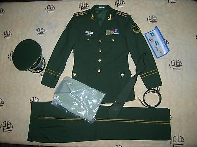 Obsolete 16's series China Armed Police Force Man Officer Uniform,Set