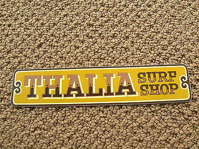 Thalia Street Surf Shop Ca Surfboard Surfing Sticker Decal Longboard Surfer